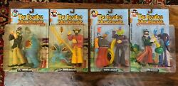 4 The Beatles Yellow Submarine Sgt. Peppers Action Figure Set Mcfarlane Toys