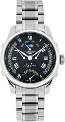 New Longines Master Collection 41mm Black Dial Steel Menand039s Watch L27384516