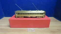 Mts Imports O Scale Brass Chicago N Shore And Milwaukee 150-164 Brill Coach 601016