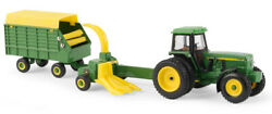 Ertl 45589 164 John Deere 4960 Tractor With Pull Type Forage Harvester And Wagon