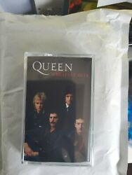 Queen Greatest Hits Spotify Exclusive Cassette Sold Out Sealed Mint In Hand