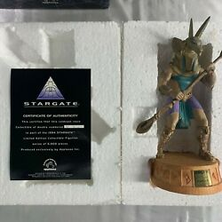 1994 Applause Stargate Anubis Collector Statue Figurine 3632/5000 Free Shipping