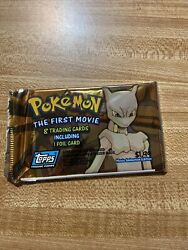 Pokemon The First Movie Trading Cards Pack--factory Sealed