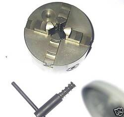Four Jaw Feed Emco Compact 5, 3 5/32in 4 Jaw Chuck Self Centring New