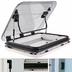 Led Skylight Roof Window Hatch Roof Top Vent With Led Light For Rv Caravan