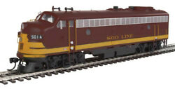Walthers 920-42520 Ho Soo Line Fp7 F7b Diesel Locomotive With Dcc 501ac