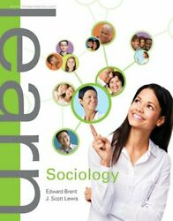 Learn Sociology By Brent Book The Fast Free Shipping
