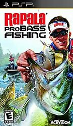 Secondhand Rapala Pro Bass Fishing 2010 Imported Version North America Asia Psp