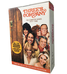 Brand New Sealed Threeand039s Company The Complete Series Season Dvd 2014 29-disc