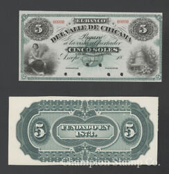 Peru Proof Banknote Face/back Catalog S424