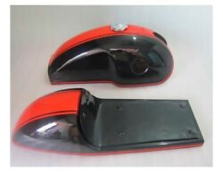 Benelli Mojave Cafe Racer Dual Painted Fuel Tank With Seat Hood Pair+cap