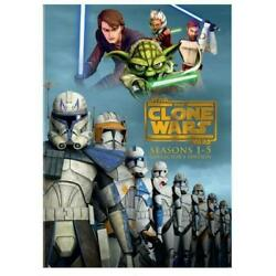Star Wars The Clone Wars - The Complete Seasons 1-5 Dvd, 2013, Collectors Edit