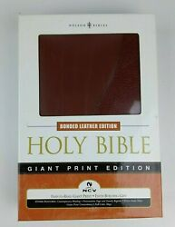 Holy Bible New Century Version Ncv Giant Print Edition Bonded Leather Nelson New