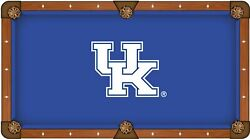 Kentucky Wildcats Hbs Blue With White Uk Logo Billiard Pool Table Cloth
