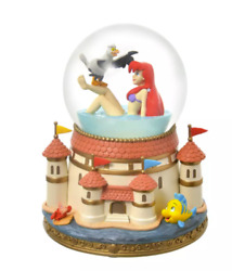 Disney Store Japan Ariel And Scuttle Snow Globe The Little Mermaid F/s From Japan