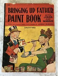 Bringing Up Father Andldquopaintandrdquo Coloring Book George Mcmanus W/ Jiggs And Maggie 1940