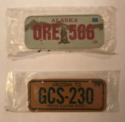 1979/1980 Post Cereal Collectible Mini Bike License Plate - New In Package