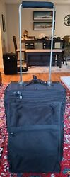 Luggageworks Stealth 26 Heavy Duty Airline Pilot Rolling Suitcase