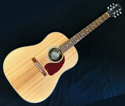 Exhibition Including Postage Gibson J-15 An Antique Natural Acoustic Guitar