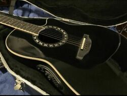 Guitar Ovation Case Accessory Will Give It To You In Set Such As Guarantee Black