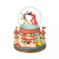 Disney Imited Ariel And Scuttle Snow Globe The Little Mermaid Story Collection