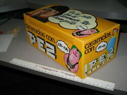 Pez 1970s Clicker Metal Candy Premium Spain Candy Box Store Display Chick Lion
