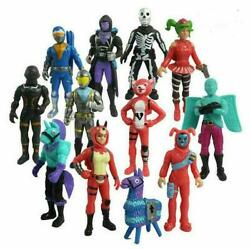 12PCS Fortnight Fortnite PVC Action Figure Pack Game Collection Toy Doll Playset