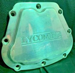 Billet Aircraft Lycoming Engine Valve Cover Cnc Machined Aluminum Used