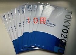 Come On Nippon Tokyo 2020 Olympics Paralympic Games Cutbook 10 Books List Price
