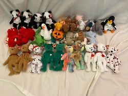 Ty Beanie Babies 1990s - Lot Of 30 Including Bears Mint Condition. Lot 10