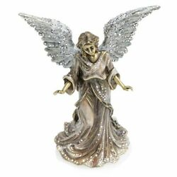 Jay Strongwater Angel Figurine Crystal Gold Silver Sdh1888-485 New