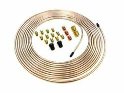 The Stop Shop 25 Feet Of 3/16 Inch 4.75 Mm Copper Nickel Brake Line .028 Wal...