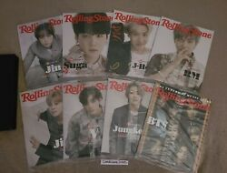 Bts Rolling Stone June 2021 Special Collectorand039s Edition Box Set All 8 Covers New