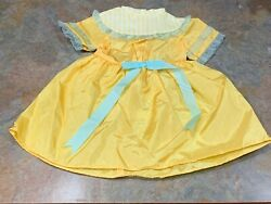 American Girl 18 Doll Retired Marie Grace Cecile Summer Outfit Dress Only