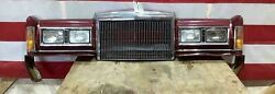 85-89 Lincoln Town Car Loaded Header Panel Assembly Includes Lights/grille