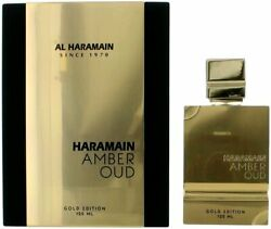 Amber Oud Gold Edition By Al Haramain For Unisex Edp 4.2 Oz New In Box