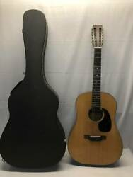 Secondhand Acoustic Guitar Martin D-12-20 With Case