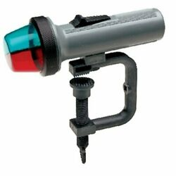 Led Portable Battery Operated Clamp On Mount Red And Green Bow Light For Boats