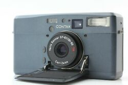 Super Rare 【mint】 Contax Tvsiii Blue Color 35mm Point And Shoot Camera Japan