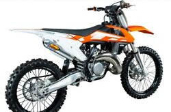 Fmf Fatty Exhaust Pipe W/ Powercore 2 Silencer For Ktm 125 150 Sx Xc 16-18