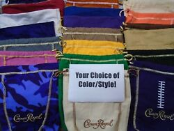 Crown Royal Bags Your Choice Of Many Colors / Styles Variety Build A Collection