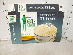 Green Giant 1960s Rice White Buttered Vintage Frozen Vegetable Food Box