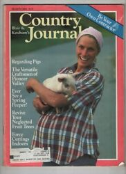 Country Journal Mag Craftsmen Of Pioneer Valley March 1984 071321nonr
