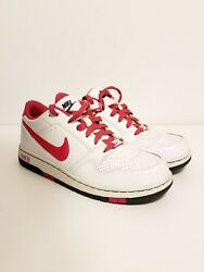 NIKE PRESTIGE AIR 3 GS WHITE PINK LEATHER GIRLS SHOES 394878 166 7Y $21.00