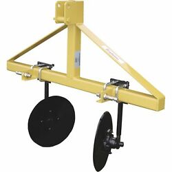 King Kutter Disc Bedder- Cat. 1 3-pt. Hitch Compatible 48in Max Working Width
