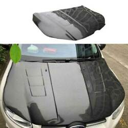 Dry Carbon Fiber Engine Hood Cover Full Carbon 1pcs Fit For Ford Focus 2012-2014