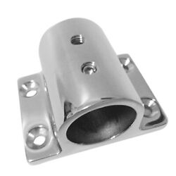 Boat Hand Rail Fitting 22mm Rectangle Stanchion Base Mount Accessories