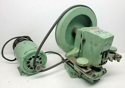 Foley Belsaw Automatic Retoother Model 332 With Belt Drive Motor Runs Great