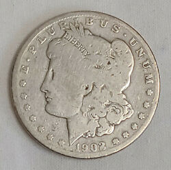 1902 S 1 Morgan Silver Dollar Key Date Us Currency San Francisco Mint Coin