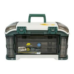 New Plano Outdoor Sports Angled Fishing Tackle Utility Box Chest Storage System
